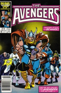 The Avengers 276 Comic Book