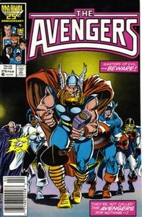 The Avengers 276 Comic Book Wiki